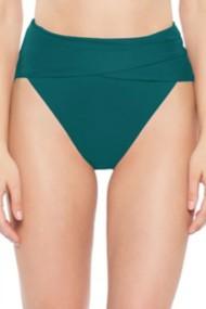 Women's Becca Color Code Wrap Front High Waist Bikini Bottom