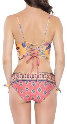 Women's Becca Reversible Cropped Cami Bikini Top