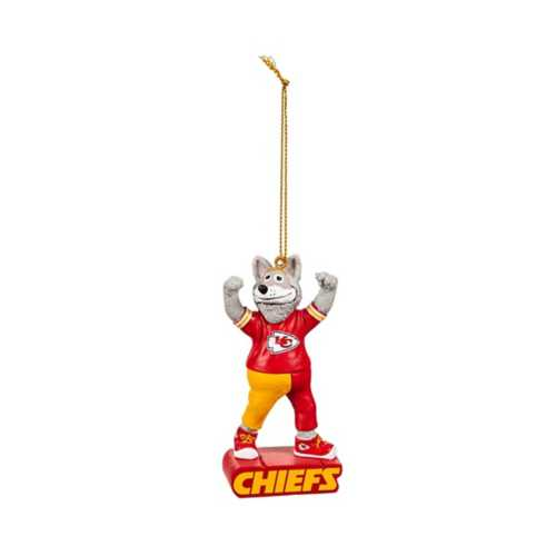 Evergreen Kansas City Chiefs Mascot Statue Ornament