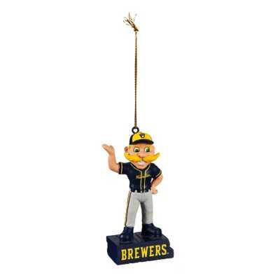 Evergreen Milwaukee Brewers Mascot Statue Ornament