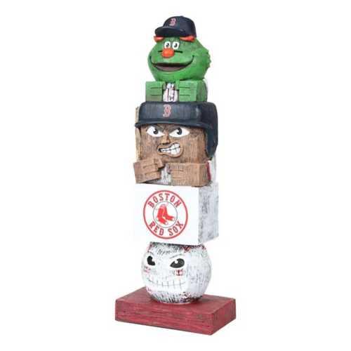 "Evergreen Boston Red Sox Tiki Totem 16"" Garden Statue"