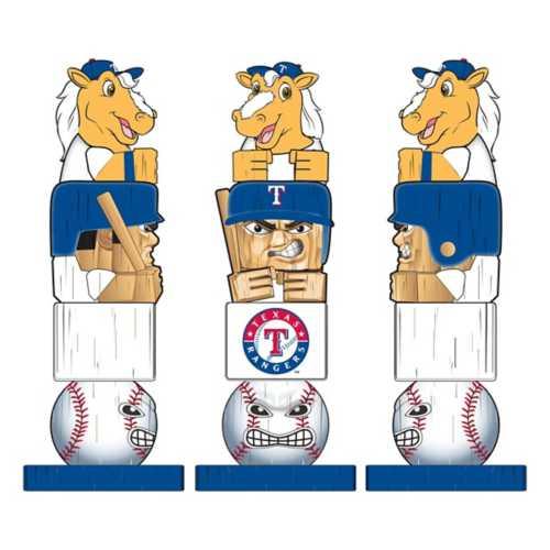 "Evergreen Texas Rangers Tiki Totem 16"" Garden Statue"