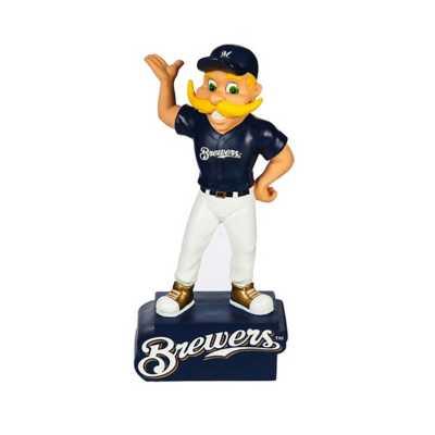 """Evergreen Milwaukee Brewers Mascot 12"""" Garden Statue"""