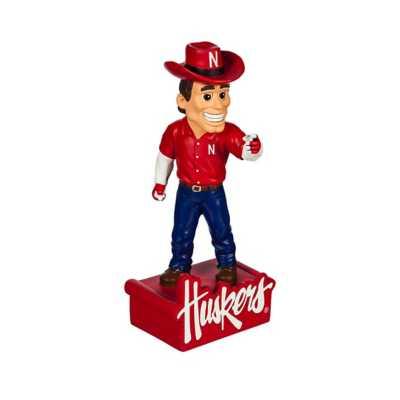 "Evergreen Nebraska Cornhuskers Mascot 12"" Garden Statue"