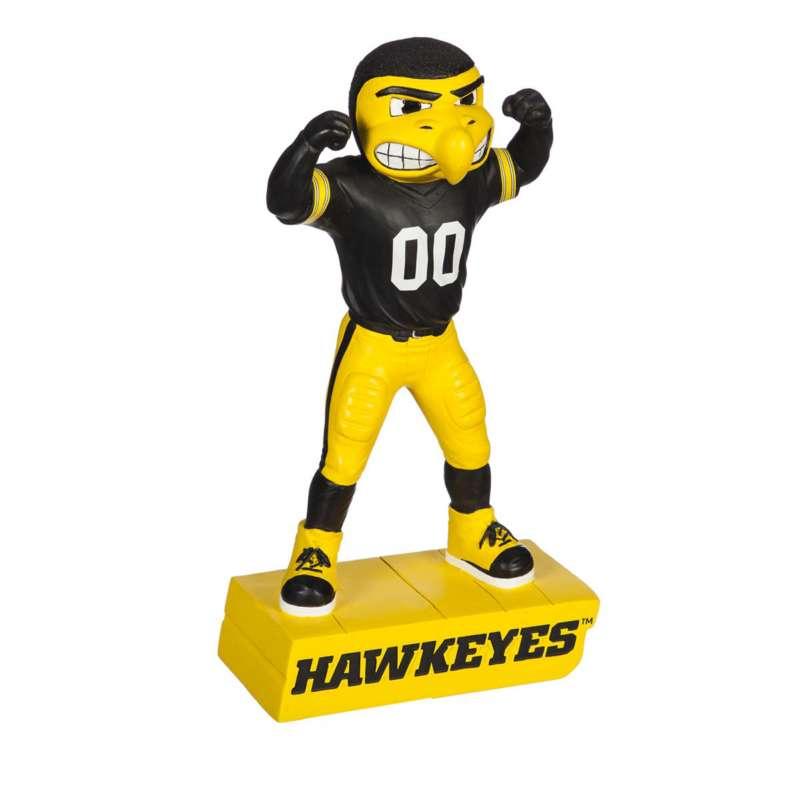 "Evergreen Iowa Hawkeyes Mascot 12"" Garden Statue"