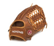 "Nokona 1275 Classic Walnut 12.75"" Outfield Glove"