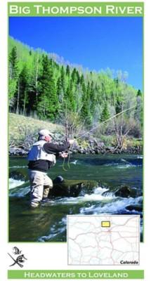 Colorado Big Thompson River Map