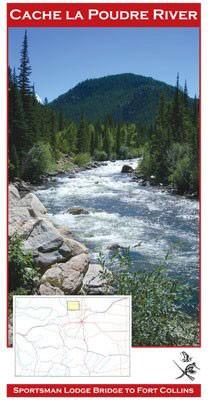Colorado Cache La Poudre River Map