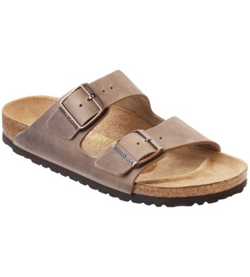Birkenstock Men's Oiled Leather Arizona Sandal' data-lgimg='{
