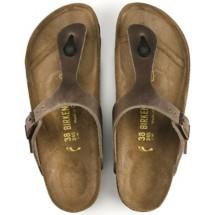 Women's Birkenstock Gizeh Oiled Leather Sandals