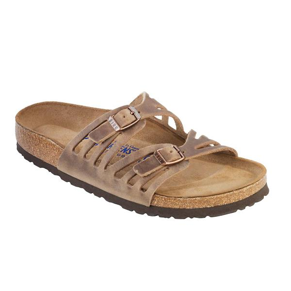 276b5192aa4a ... Women's Birkenstock Granada Soft Footbed Sandals Tap to Zoom; Tobacco  Tap to Zoom; Black