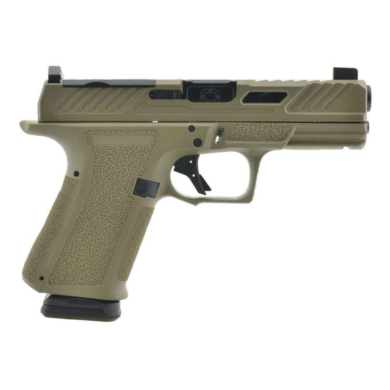 Shadow Systems MR920 Elite FDE With Optic Cut 9mm Pistol