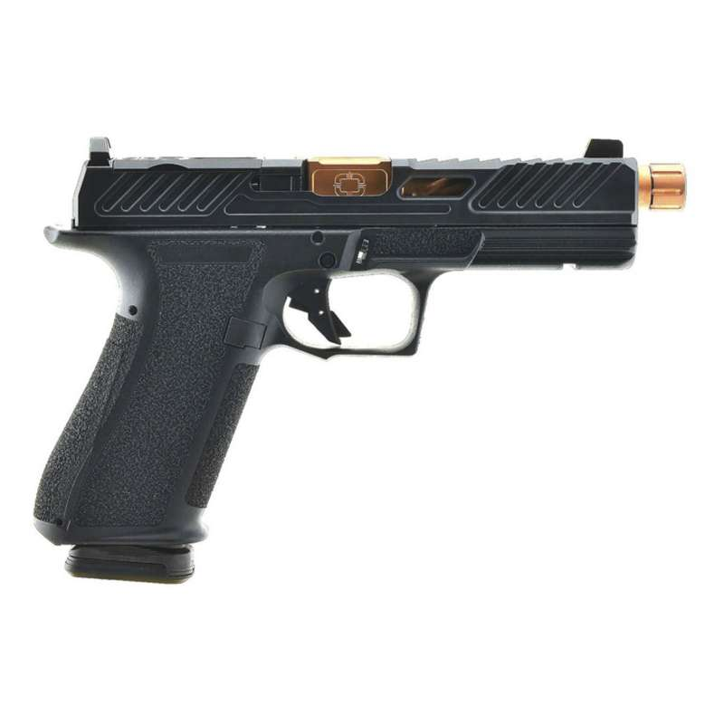 Shadow Systems DR920 Elite Bronze With Optic Cut / Threaded Barrel Full Size 9mm Pistol 10rd