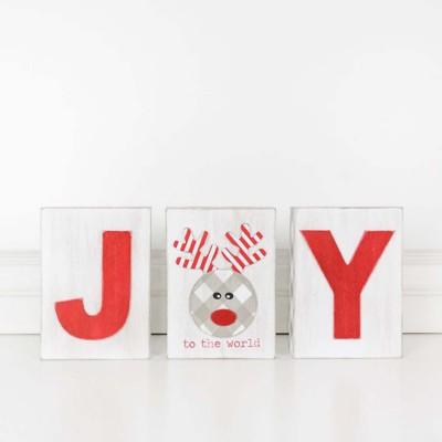 Adams & Co. Joy Block Set