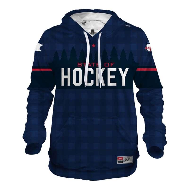 Men's State of Hockey Silk Series Hoodie