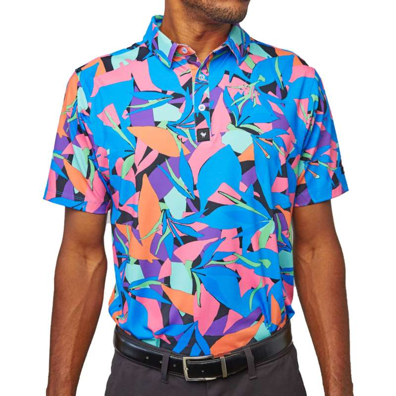 Men's Bad Birdie Punch Out Golf Polo