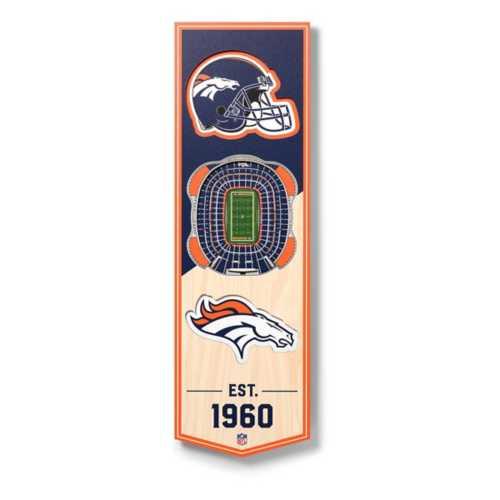 Wildman/Sportula Denver Broncos 3D Stadium Ornament