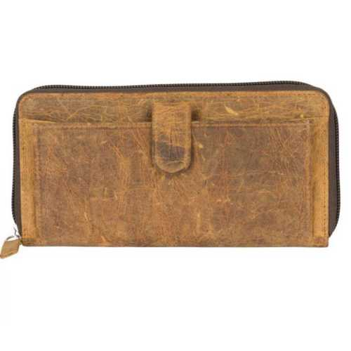 Women's Myra Bag Its All Brown Leather Wallet
