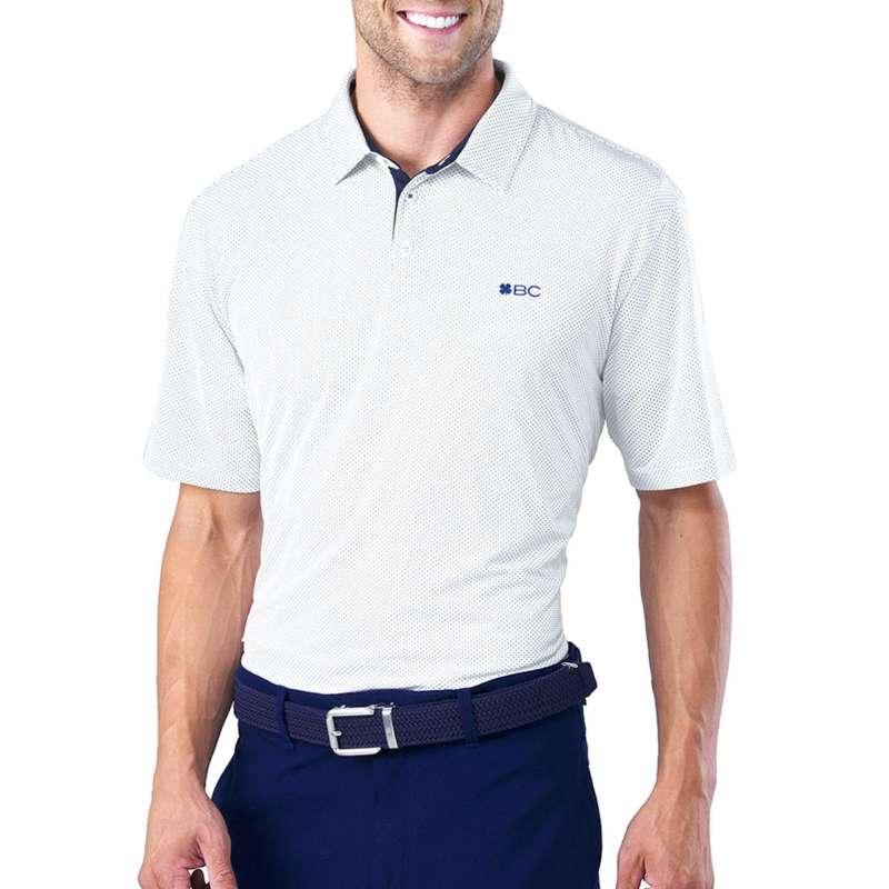 Men's Black Clover The Man Golf Polo