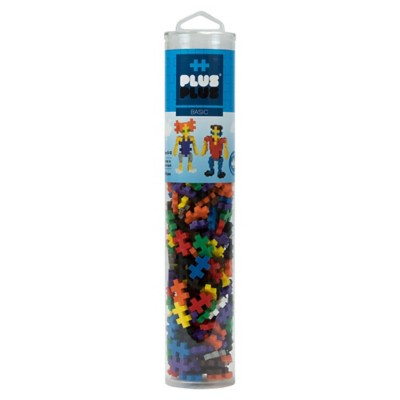 Plus Plus Open Play 240 Piece Basic Mix Tube Building Kit