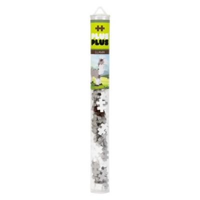 Plus Plus Mini Maker Tube - Llama Building Kit