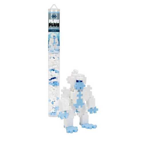 Plus Plus Mini Maker Tube Yeti Building Kit