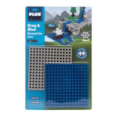 Plus Plus Construction Baseplate Duo