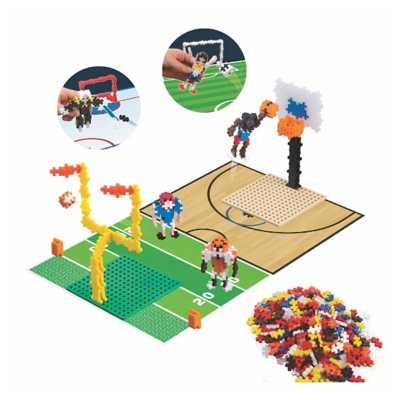 Plus Plus Learn to Build - Sports