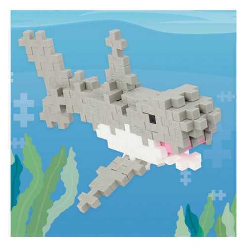 Plus Plus Mini Maker Tube - Shark