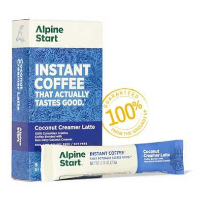 Alpine Start Non-Dairy Coconut Creamer Latte
