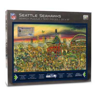 Wildman/Sportula Seattle Seahawks Journeyman Puzzle