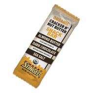 Honey Stinger Cracker N' Nut Butter Snack Bar Almond Butter & Dark Chocolate