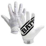 Youth Battle Hybrid Football Receiver Gloves