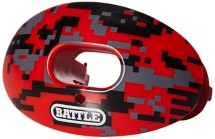 Adult Battle Oxygen Camo Football Mouthguard