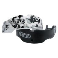 Adult Battle Black Camo Mouthguard 2 Pack
