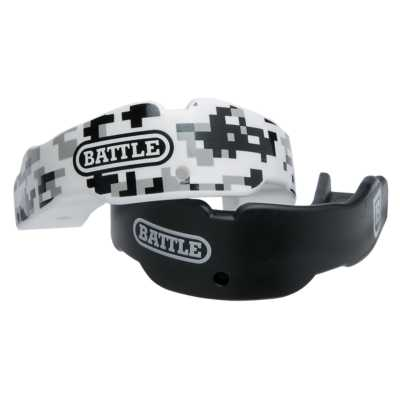 Adult Battle Black Camo Mouthguard 2 Pack