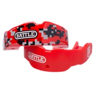 Adult Battle Red Camo Mouthguard 2 Pack