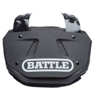 Adult Battle Football Black Back Plate