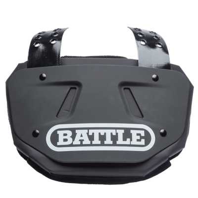 Youth Battle Football Black Back Plate