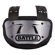 Adult Battle Chrome Football Back Plate