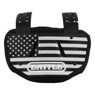 Youth Battle Chrome Football Flag Back Plate