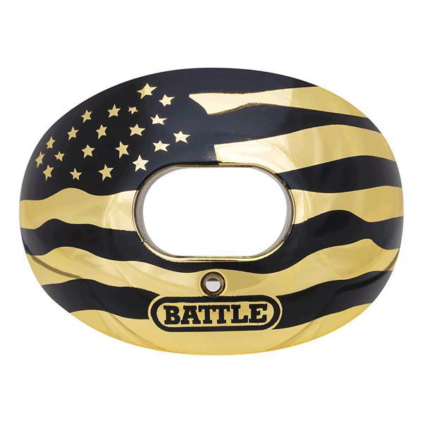 Outstanding Battle Oxygen American Flag Chrome Football Mouthguard Machost Co Dining Chair Design Ideas Machostcouk