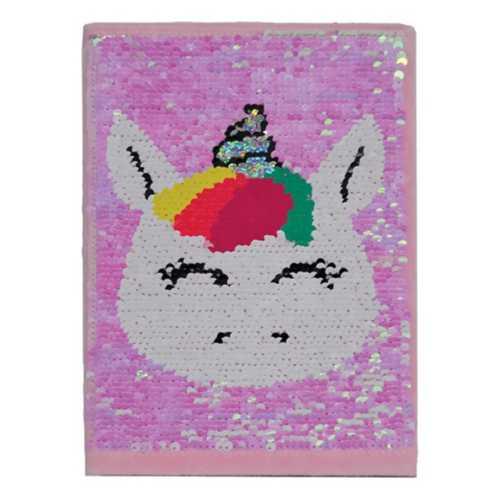 Girls' Iscream Unicorn Reversible Sequin Journal