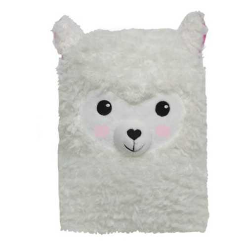 Girls' Iscream Llama Furry Journal