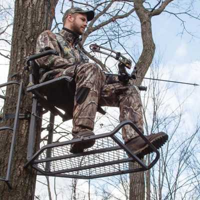 Rivers Edge Big Foot TearTuff XL Lounger Hang-On Treestand