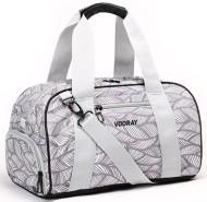 Vooray Feather Grey Burner Duffel Gym Bag