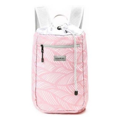 Vooray Feather Pink Stride Cinch Backpack