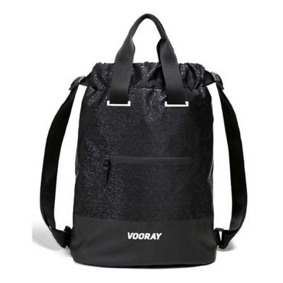 Women's Vooray Flex Cinch Black Foil Backpack
