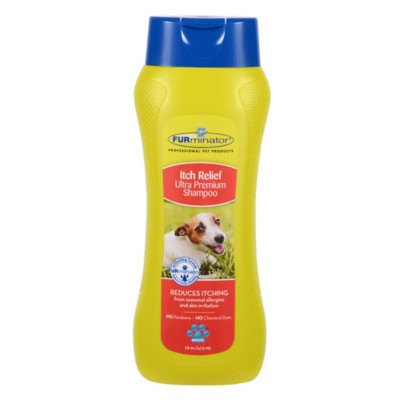 Furminator Itch Relief Ultra Premium Dog Shampoo