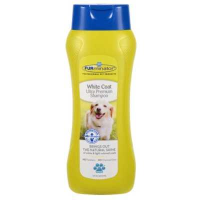 Furminator White Coat Ultra Premium Dog Shampoo